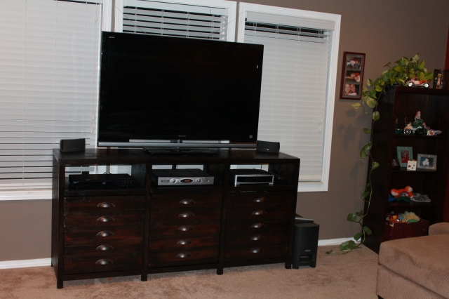 My Media Console is FINISHED!!